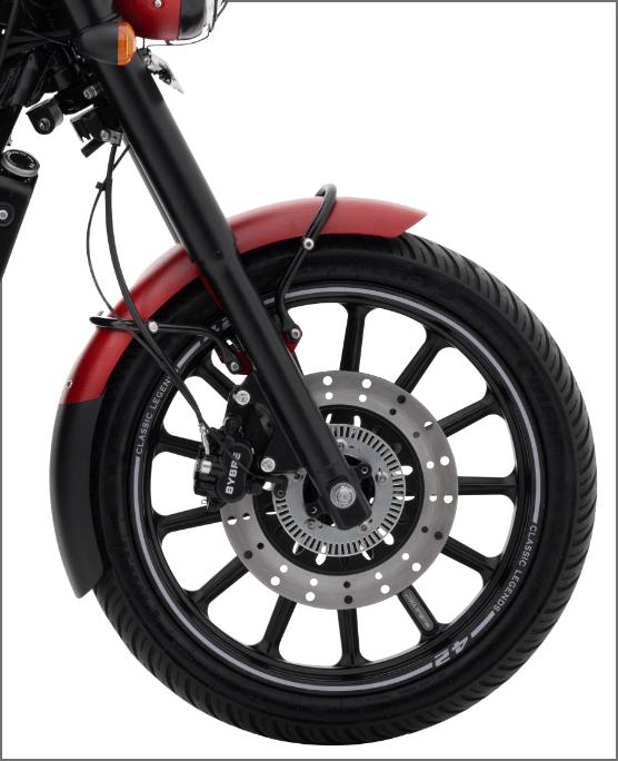 Jawa42 Front Wheel