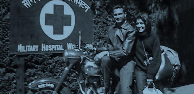 Jawa Cz Yezdi Racing Motorcycle Banner