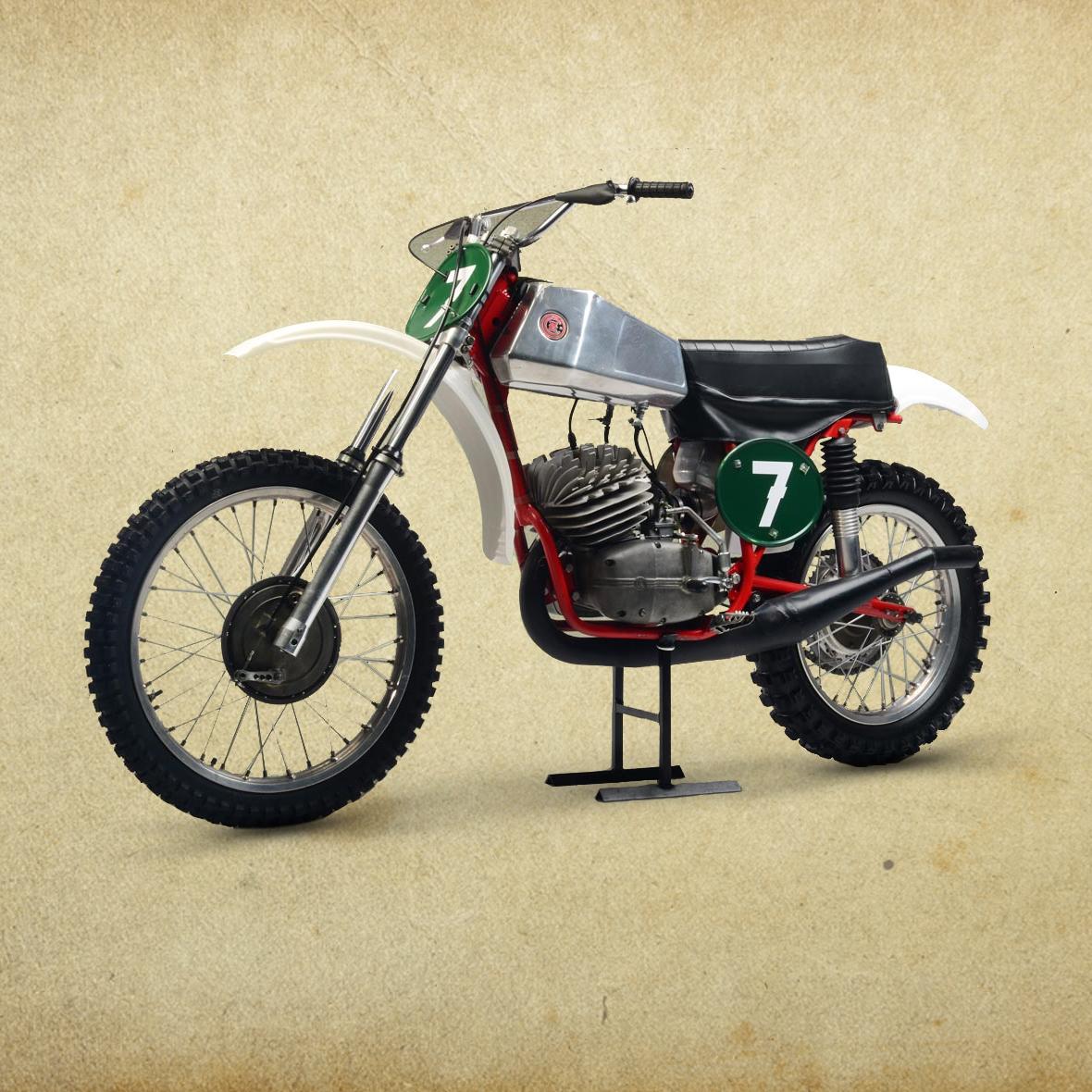 jawa cz moto cross racing bike land