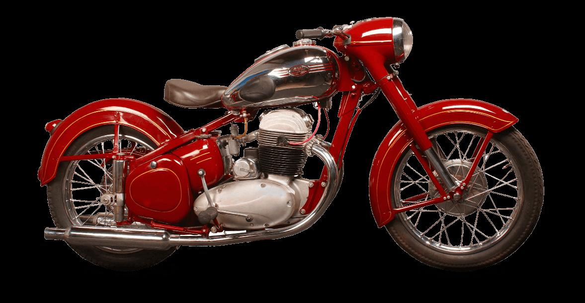 jawa 500 ohc 1952 model