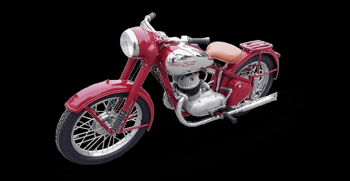 jawa perak 350 bike 1948